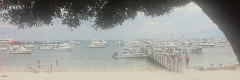 Rottness Island marina